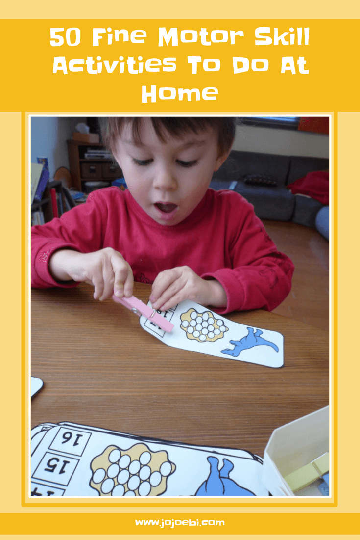 50 Fine Motor Skill Activities To Do At Home - help your child strengthen their pincer muscles to prepare for writing. | Montessori | fine motor skills | homeschool | Preparing to write | pincer muscles |