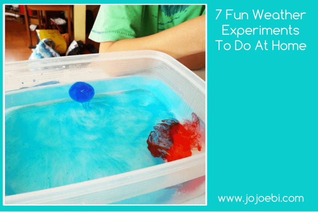 7 fun weather experiments to do at home jojoebi