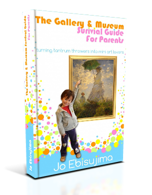 The Gallery and Museum Survival Guide For Parents: Turn Tantrum Throwers Into Mini Art Lovers