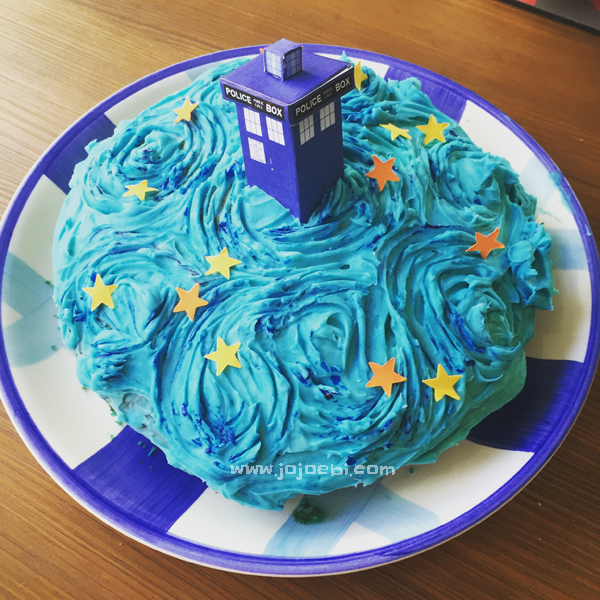 how to make a dr who cake