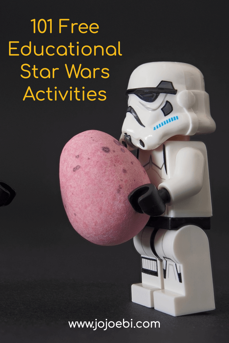 101 free educational star wars activities #starwars #yoda #darthvader