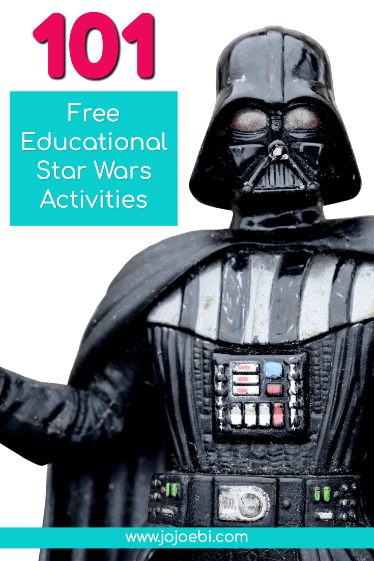 101 Free Educational Star Wars Activities | star wars | kids activities | educational activity | Phonics | #starwars #yoda #lightsaber