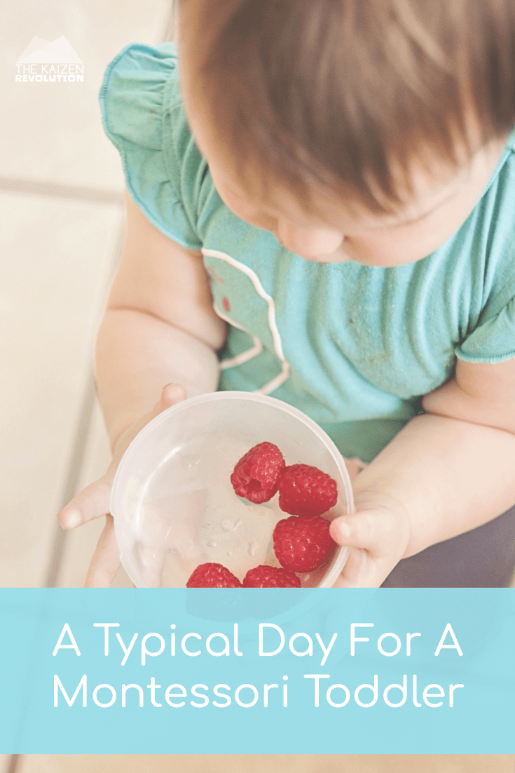 typical day for a montessori toddler ¥ What does a Montessori child do all day at home? #montessori #dayinthelife #montessoriathome