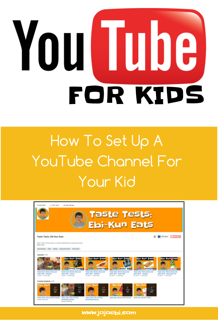 how to set up a youtube channel for your child | youtube | YouTube for kids | tutorial | youtube channel