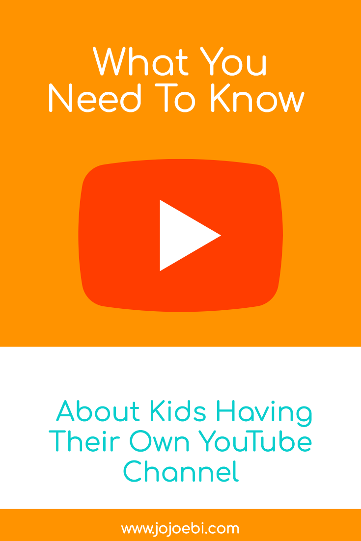 what you need to know about kids having their own youtube channel | YuoTube | social media | kids on social media | #kaizen #youtubekids #kidsonyoutube #socialmedia