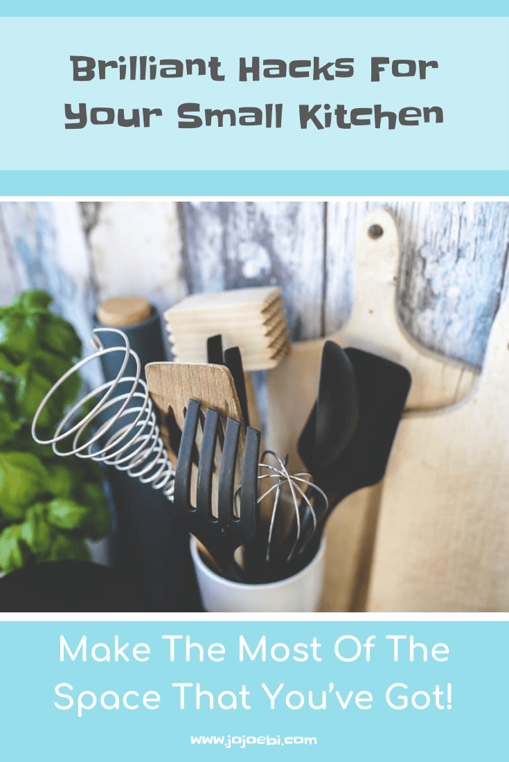Brilliant Hacks For Your Small Kitchen, make the most of the limited space that you've got | Kaizen | Kitchen | small kitchen | kitchen hacks | kitchen organisation |