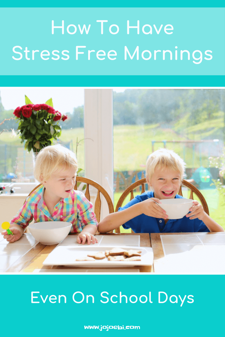 How To Have Stress Free Mornings even on a school day | organized mornings | morning routine | de-stess your morning | stress free school mornings | stress free morning routine |