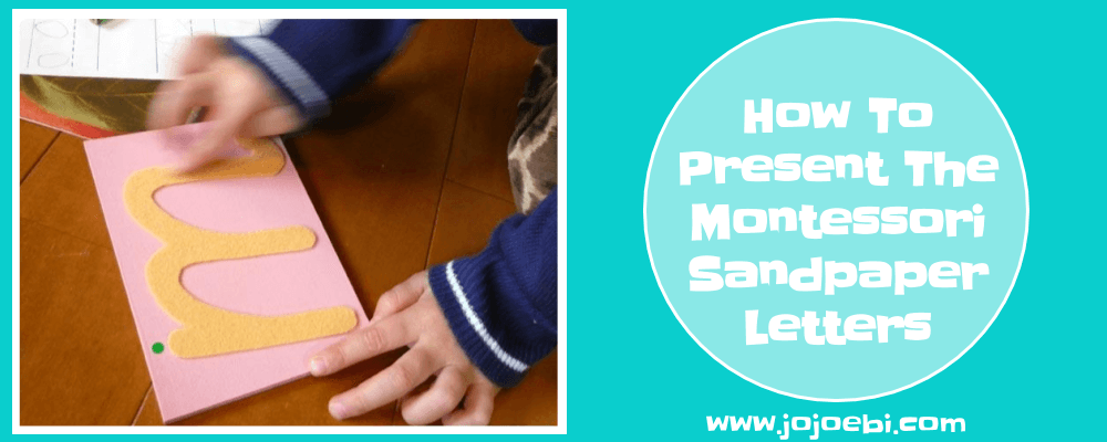 How To Present Montessori Sandpaper Letters | Montessori | Montessori DIY | Montessori at home | Homeschool | Learning to write | Montessori lessons |