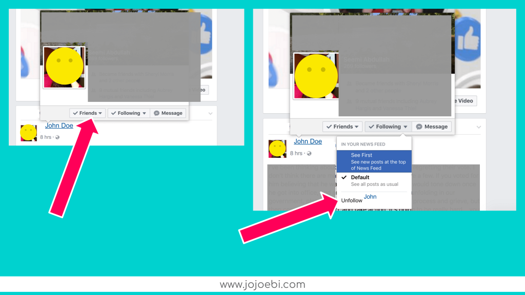 How To Set Up And Use Facebook Lists » jojoebi