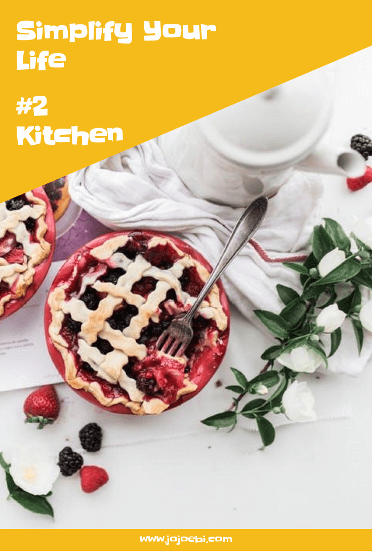 Simplify Your Life #2 - Kitchen. Easy tweaks, tricks and hacks to make your life easier, this week focusing on the kitchen | simplify | kitchen hacks | time saving tips | kaizen for home |