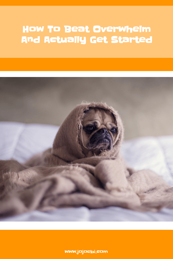 How To Beat Overwhelm And Actually Get Started   overwhelm   procrastination   help kids with overwhelm   how to beat procrastination   why we procrastinate #kaizen #productivity #procrastination #overwhelm
