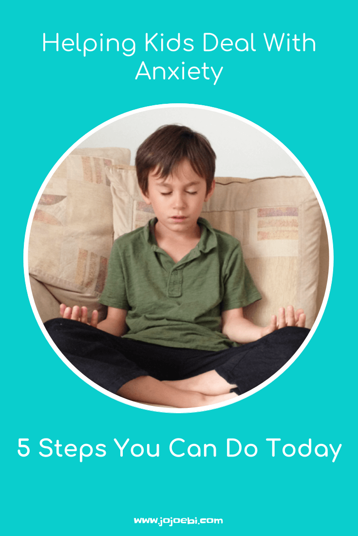 Helping Kids Deal With Anxiety | meditation | meditate with kids | starting school | helping kids with first day nerves | kids anxiety