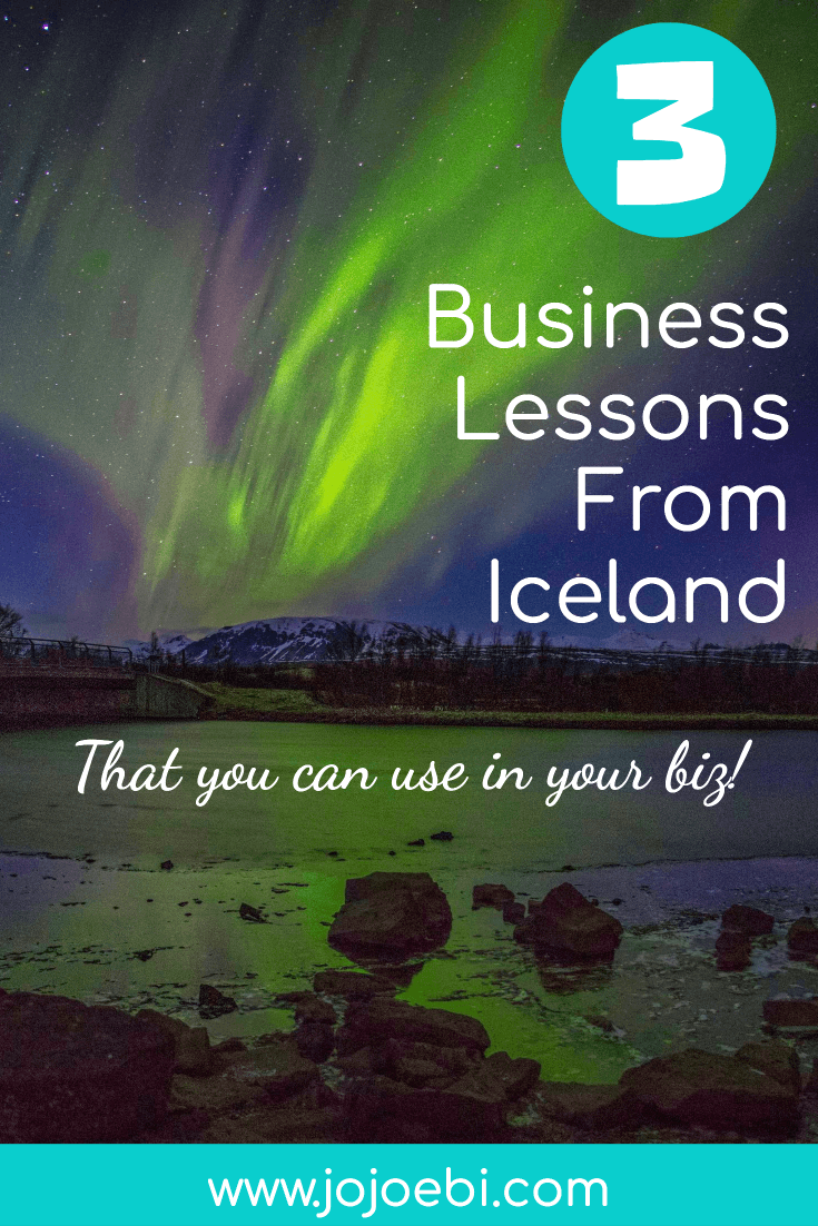 3 business lessons from the Blue Lagoon in Iceland that you can use in your business. | Iceland | small business | start a business | Blue lagoon | #kaizen #bluelagoon #iceland #business