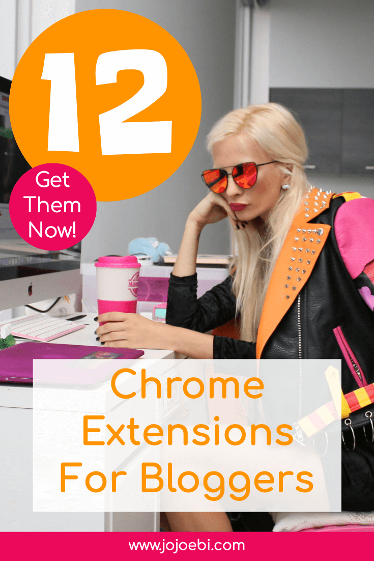12 Chrome Extensions For Entrepreneurs and Bloggers to boost productivity and save more time #kaizen #productivity #blogger #mompreneur