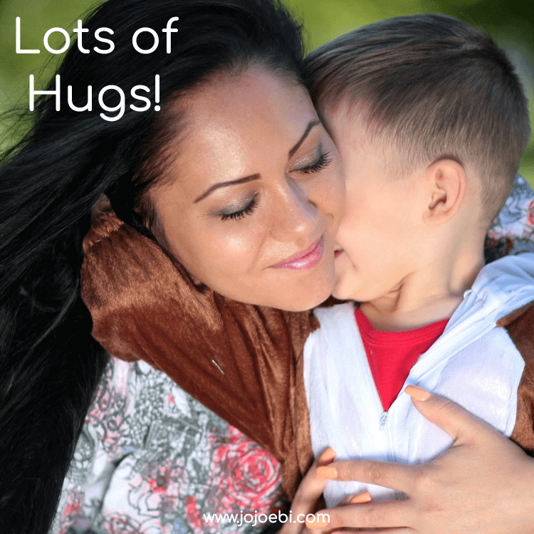 10 super Ways To Connect With Your Kids | mom cuddling little boy | #kaizen #connection #parenting #mompreneur