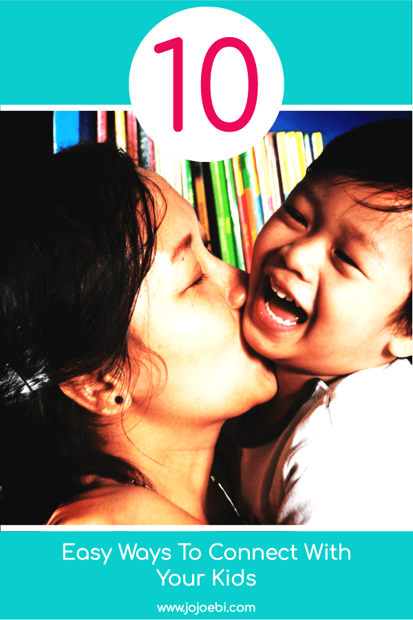 10 funny Ways To Connect With Your Kids | mom and laughing baby boy | #kaizen #connection #parenting #mompreneur