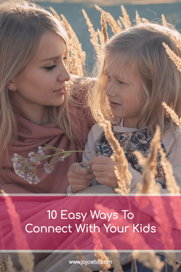 10 beautiful Ways To Connect With Your child | mom with little girl in field | #kaizen #connection #parenting #mompreneur