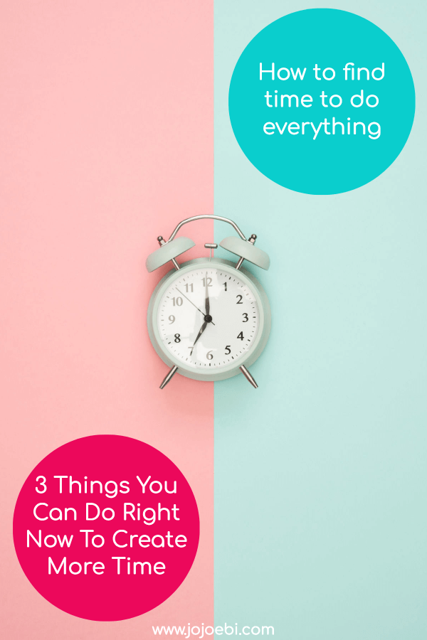 how to find time to do everything | alarm clock | Mompreneur | #kaizen #productivity #timemanagement