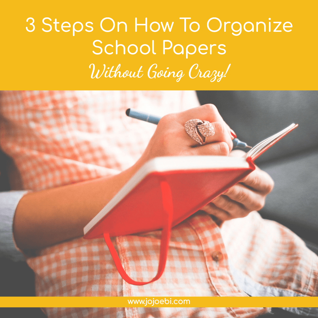 How To Organize School Papers | systemize | how to organize | declutter #kaizen #declutter #organize