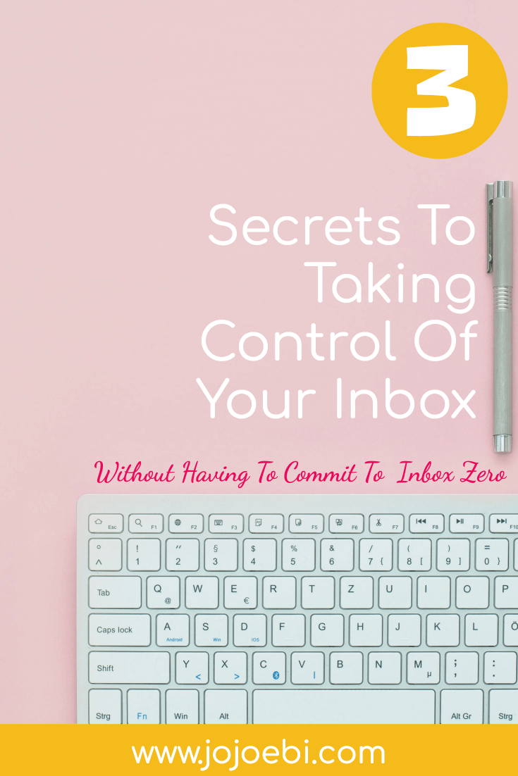 take control of your inbox | inbox zero is it a myth? | #inboxzero #inbox #productivity #kaizen
