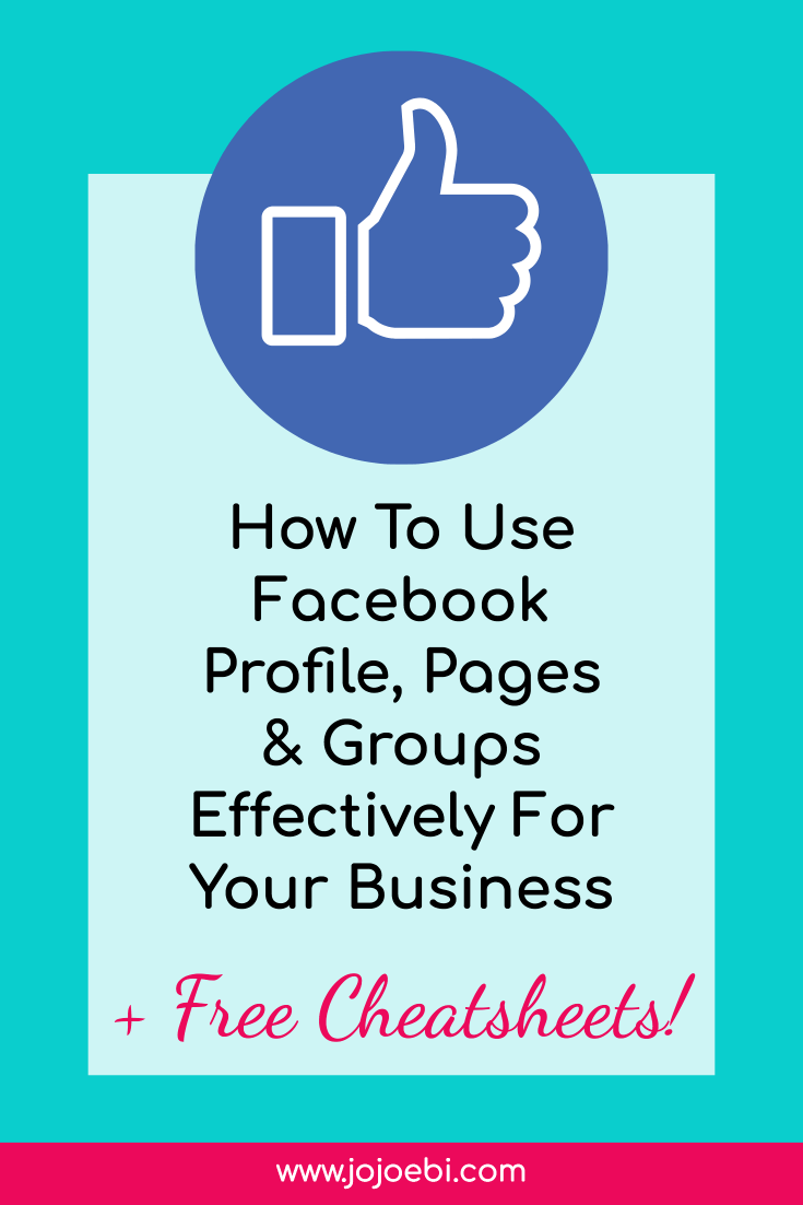how to use facebook groups pages and profiles #facebookmarketing #facebook #internetmarketing #marketing