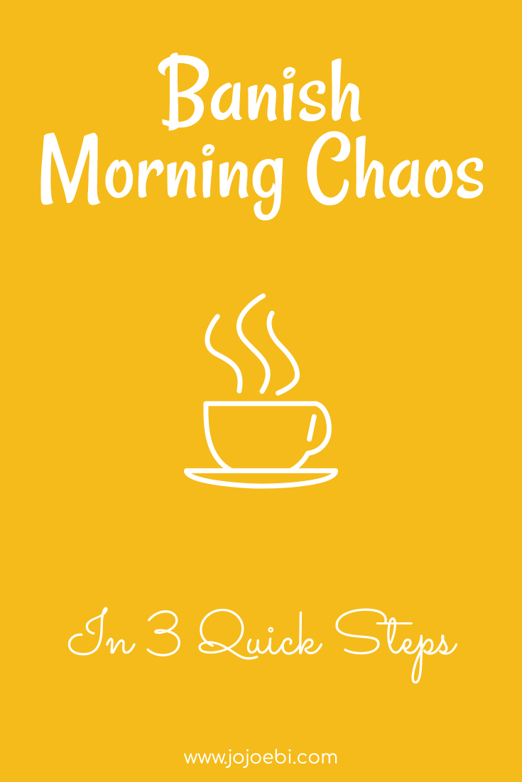 Busy Moms Guide Dealing Morning Chaos | morning hot coffee drawing with banish morning chaos in 3 quick steps ebook | #morningcoffee #stressfreemom