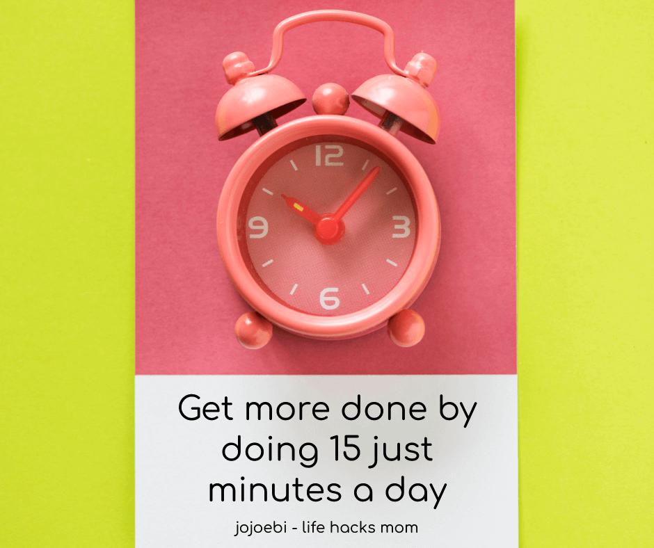 handy peach color alarm clock