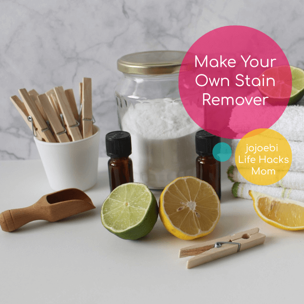 lemon, vinegar, powder soap etc. homemade stain remover ingredients