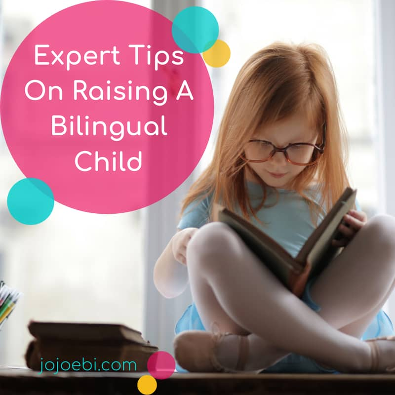 Expert tips on raising a bilingual child