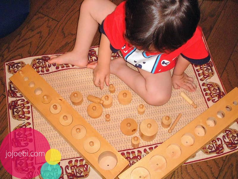 montessori learning equipments from home