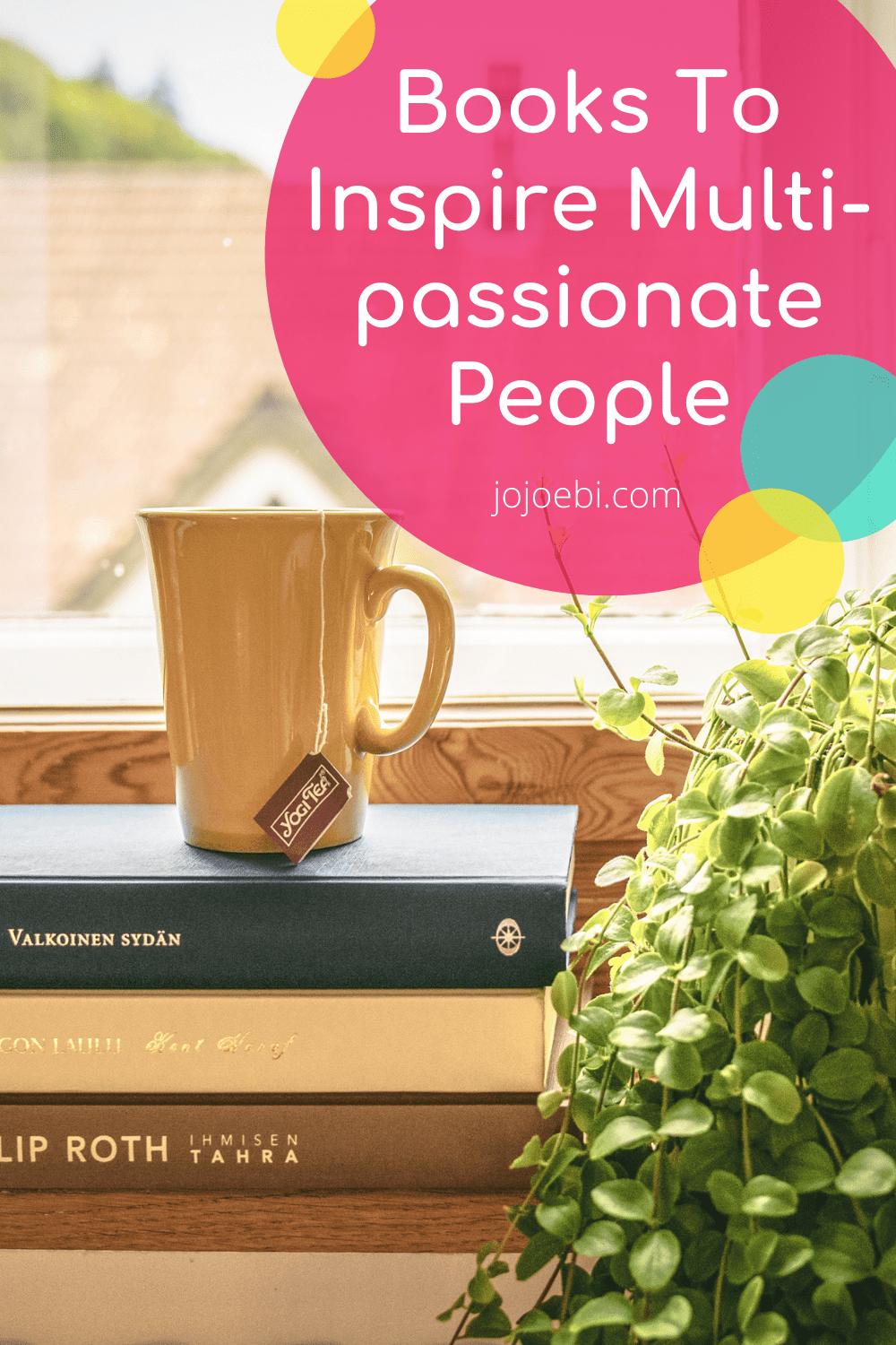 Books To Inspire Multi-passionate People pin 3